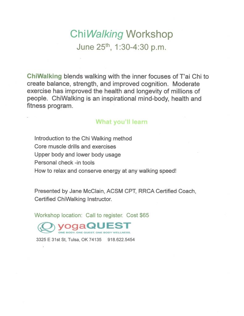 New workshop scheduled!